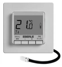 Терморегулятор для теплого пола Eberle FITnp 3U (два датчика) без функции программирования