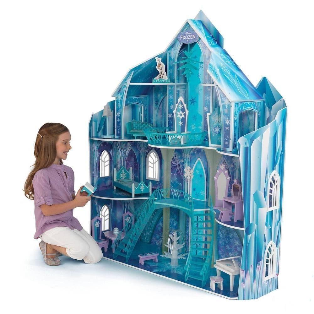 Ледяная принцесса: кукольный домик