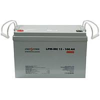 Аккумулятор AGM - 100 Ач, 12В мультигелевый LogicPower LPM-MG 12-100 AH