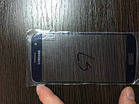 Samsung  Galaxy S7  SM-G930 Стекло корпуса Синее