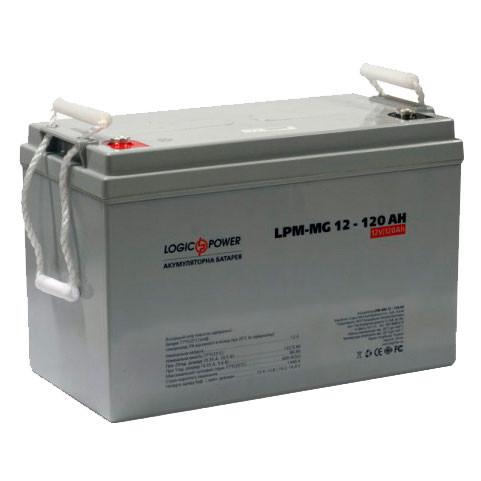 Аккумулятор AGM - 120 Ач, 12В мультигелевый LogicPower LPM-MG 12-120 AH