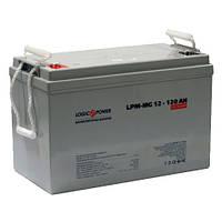 Аккумулятор AGM - 120 Ач, 12V мультигелевый LogicPower LP-MG 12-120 AH