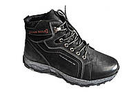 Мужские зимние ботинки баталы р 46-48