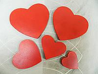 Сердца из дерева
