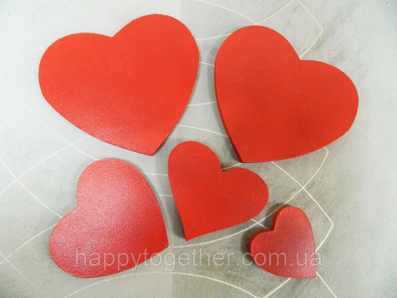 """Сердца из дерева - Свадебная мастерская """"Счастливы вместе"""" в Запорожье"""