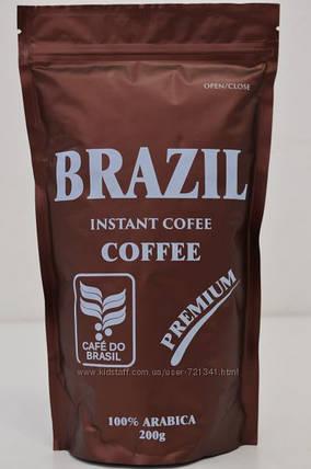 Растворимый кофе Brazil premium 200 г, фото 2