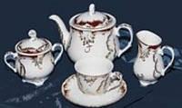Сервиз чайный 15пр. Cmielow Rococo 501503EE2E416