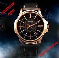 Мужские фирменные и стильные часы YAZOLE 358 ОРИГИНАЛ новинка!
