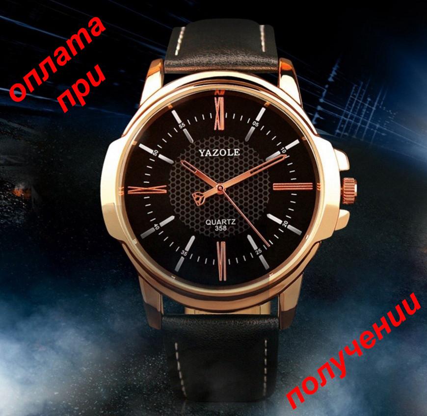 da42106b Мужские фирменные и стильные часы YAZOLE 358 ОРИГИНАЛ новинка! -