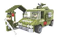 Конструктор Ausini 22407 АРМИЯ - Военная машина (166 дет.)