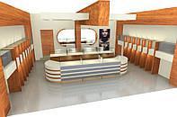 Дизайн проект ювелирного салона, дизайн магазина