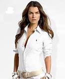 У стилі Ральф лорен поло жіноча сорочка ралф лорен купити в Україні, фото 3