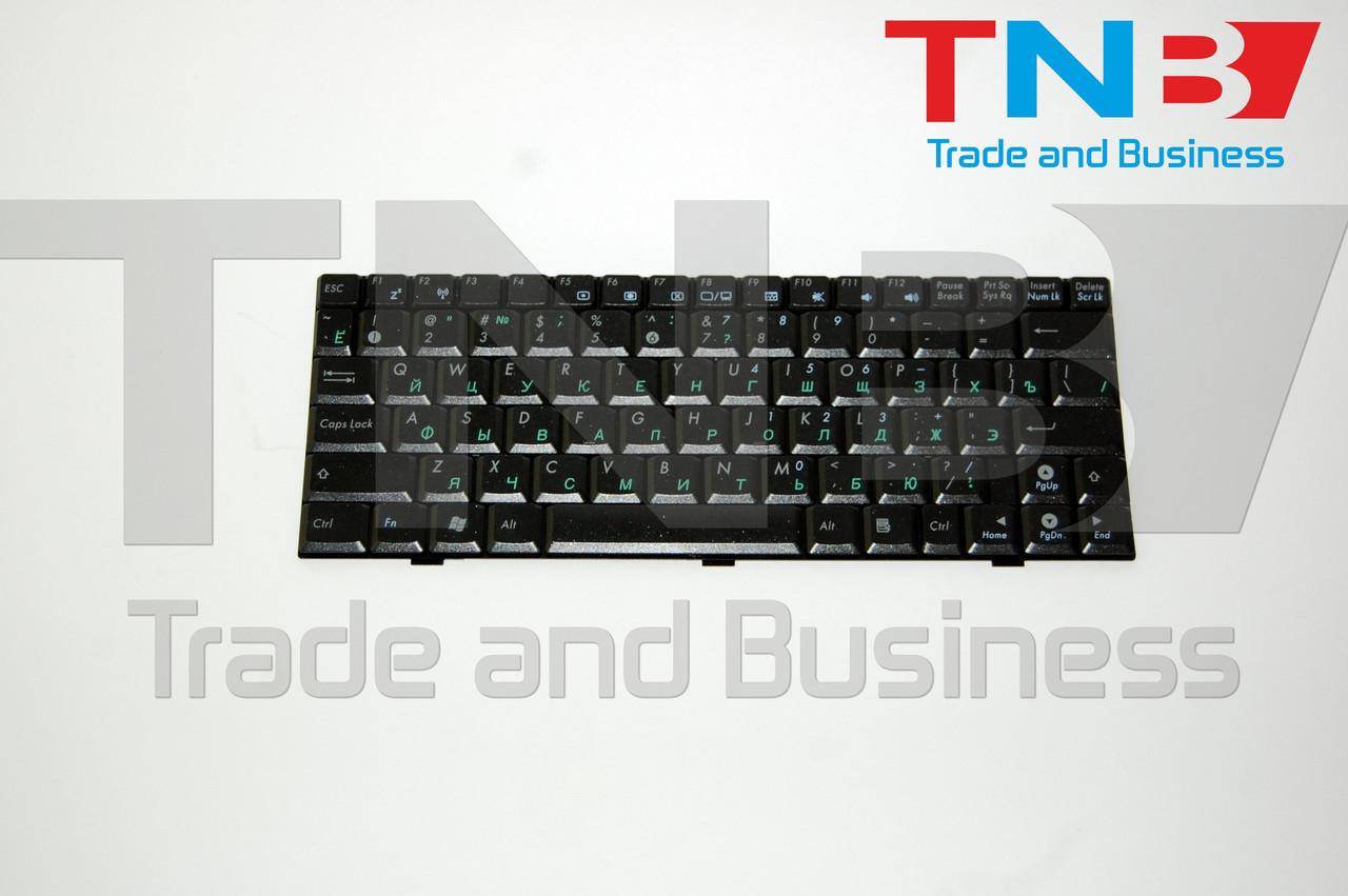 Клавиатура ASUS Eee PC 1003HA 1003HG черная