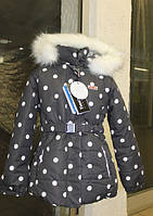 Парка куртка зимняя термо для девочки 2016-2017 Joiks 104-134 atPlay аналог LENNE