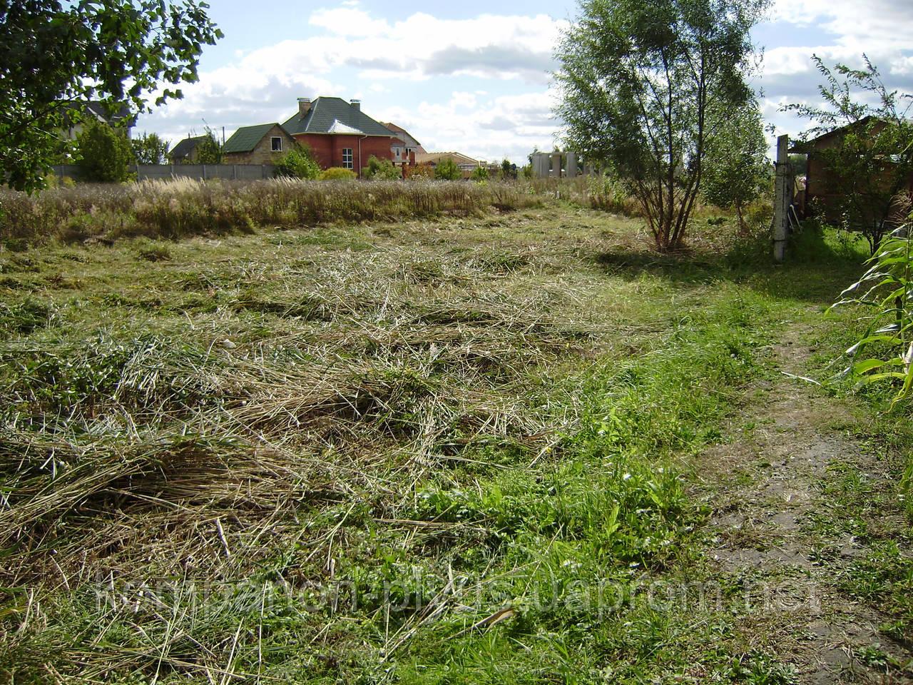 Очистка садовых участков.