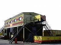 Мусоросортировочная станция. Производительность системы: 60 - 80 т/сутки