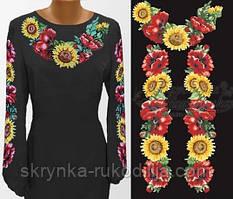 da0be230a9e05e Купити Заготовки жіночих сорочок та блуз на ЧОРНИХ тканинах для ...