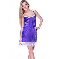 Ночная сорочка шелковая Serenade 232 Фиолетовый