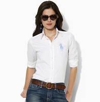 В стиле Ральф лорен поло женская рубашка ралф лорен купить в Украине, фото 1