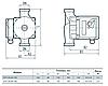 Циркуляционный насос Sprut GPD 25-4S-180 для систем отопления, фото 2