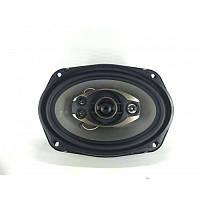 Аудио динамики для авто TS 6993: овал 15х23 см, ВЧ, СЧ, НЧ -динамики, защитные сетки