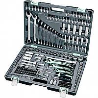 Набор инструментов STELS 216 предметов - 14115, CrV, 1/2,3/8,1/4.