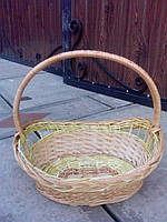 Декоративная корзина плетеная оптом