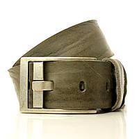 Мягкая итальянская кожа. Пряжка тертое серебро. Италия. Ремень. O4051W16 пурпурно-серый