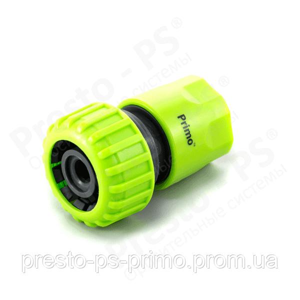 Коннектор для шланга  3/4 № 5819 green (25шт)