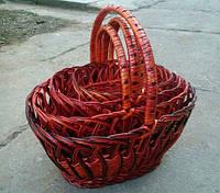 Набор плетеных корзин  4 штуки