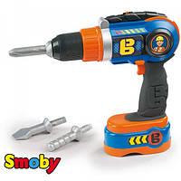 Дрель механическая детская Bob Smoby 360128