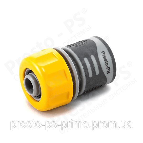 Коннектор для шланга  с резиновым покрытием 3/4 № 4113Т