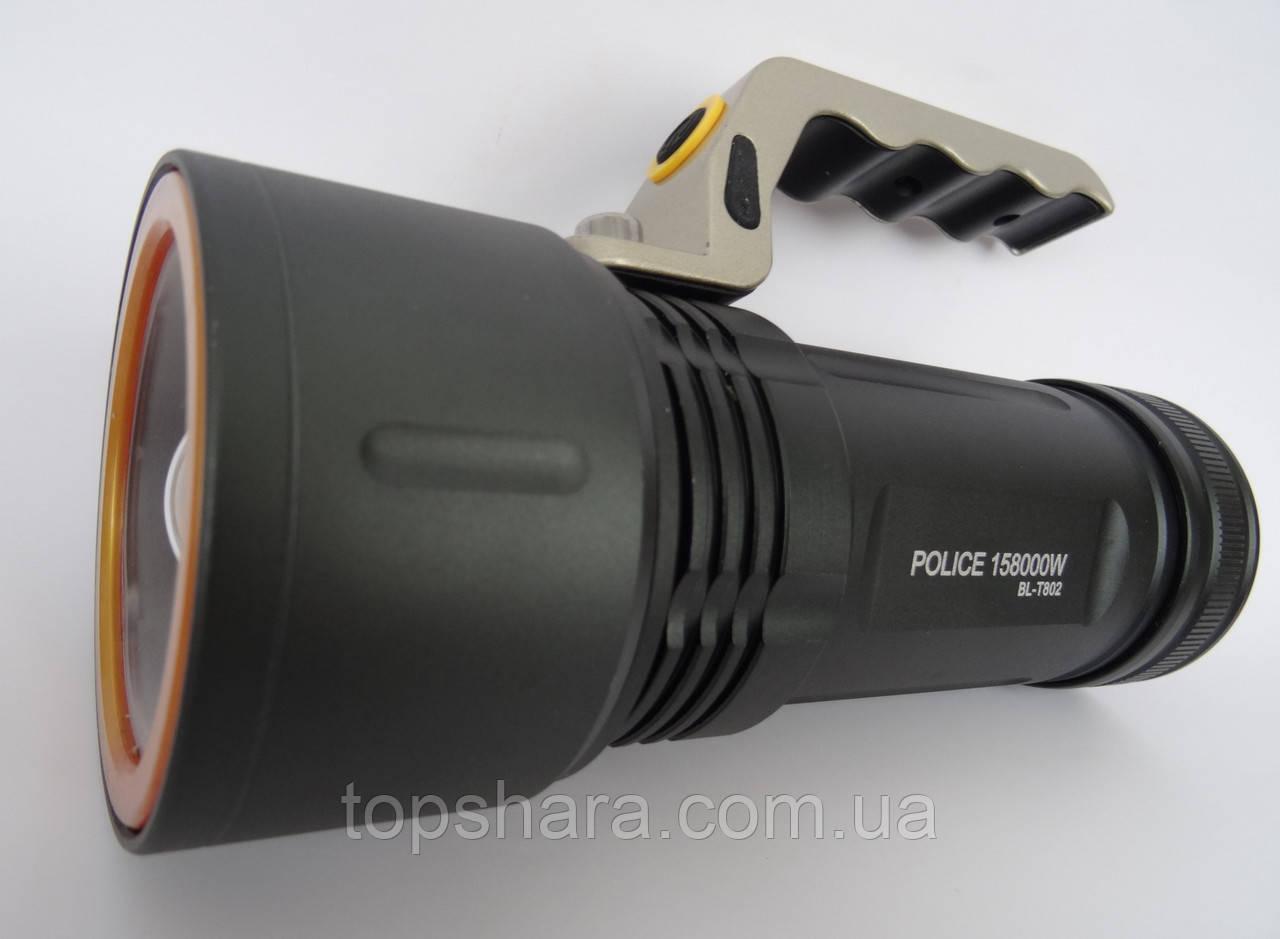 Ліхтар переносний Police BL-T802 158000W чорний