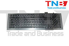Клавиатура ASUS G75 G75VW G75VX серая с подсветкой