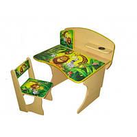 Парта регулируемая стол со стулом для ребенка BABY ELIT Африка