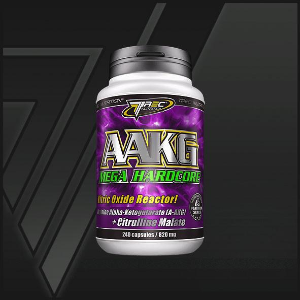 Активаторокиси азота и карнозина AAKG Mega Hardcore - 120 капсул