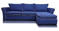 Перетяжка и ремонт диванов угловых с мягкими подлокотниками