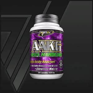 Активатор  окиси азота и карнозина AAKG Mega Hardcore - 240 капсул