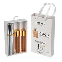 Chanel Coco Mademoiselle 3х15 ml - подарочный мини набор - 17