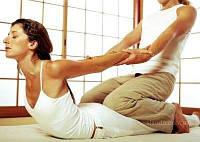 Тайский массаж для пар, техника пассивной йоги