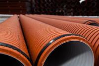 Трубы полипропиленовые двухслойные гофрированные для наружной канализации и ливнестоков