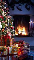 Настенный инфракрасный пленочный обогреватель-картина ТРИО (новогодний)