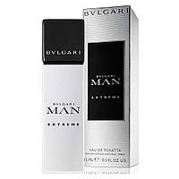 Мужская туалетная вода Bvlgari Man Extreme for Men Eu de Toilette (EDT) 15ml, Mini (мини, миниатюра)