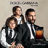Dolce & Gabbana The One for Men Eau de Parfum парфюмированная вода 100 ml. (Дольче Габбана Зе Уан Еау Парфюм), фото 4
