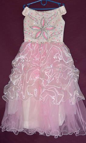 Платье бальное детское Ляля 5-6 лет, фото 2