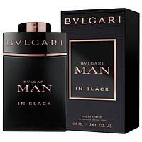 Мужская парфюмированная вода Bvlgari Man In Black for Men Eu de Parfum (EDP) 100ml, фото 1