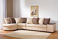 Перетяжка и ремонт диванов угловых больших из 4-х частей