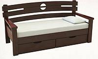Кровать-диван деревянная