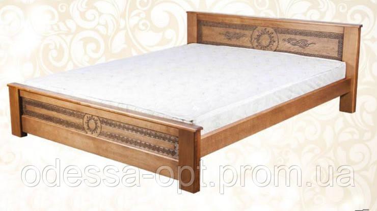 Кровать деревянная