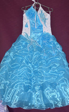 Платье бальное детское Королева 6-7лет, фото 2